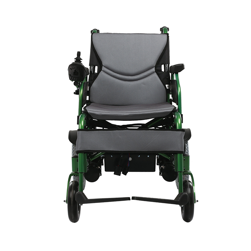 Luxury Portable Folding Electric Lightweight Wheelchair FC-P4
