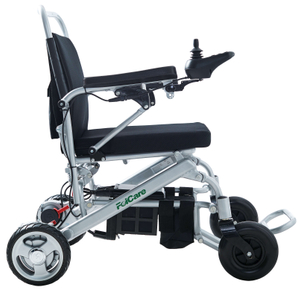 Folding in One Second Motorised Wheelchairs