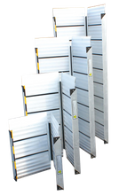 Left And Right Folding Portable Aluminum Ramps for Homes